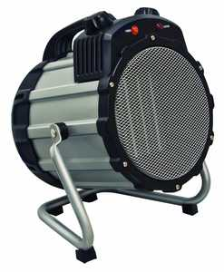 Comfort Zone CZ285 Gray Ceramic Electric Barrel Fan-Forced Heater