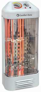 Howard Berger CZQTV6 Durable Radiant Infrared/Quartz Heater