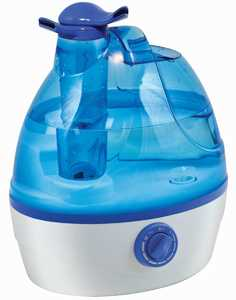 Comfort Zone CZHD24 .6 Gal Ultrasonic Cool Mist Humidifier