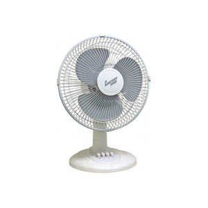 12-Inch 3-Speed Oscillating Table Fan