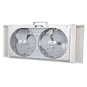 Comfort Zone CZ309 Fan Window 9 in Twin Portable 2-Speed