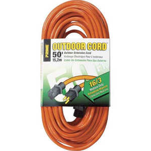 Howard Berger R2650 Bright Way R2650 Extension Cord, 16/3 x 50 ft Orange