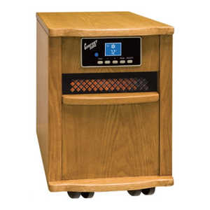 Comfort Zone CZ20110 Infrared Heater 1500w Antique Oak