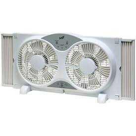 Comfort Zone CZ310R Reversible Deluxe Window Fan W/Remote Control 9 in