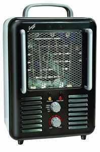 Comfort Zone CZ798BK Deluxe Milkhouse Heater Black 1300/1500w