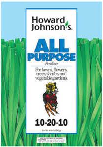 Howard Johnsons 7138 All Purpose Fertilizer 10-20-10 35Lb