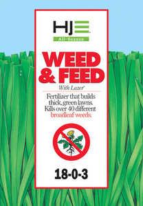 Howard Johnsons 7011 All Season Weed & Feed W/Lazer 18-0-3 16Lb