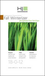 Howard Johnsons 7426 Nursery Pro Winterizer 18-0-12 5m