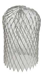 Amerimax 29059 3 in Unpainted Galvanized Steel Expandable Leaf Strainer For Gutters