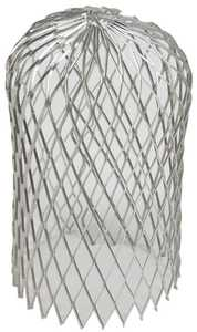 Amerimax 21059 3 in Unpainted Aluminum Expandable Leaf Strainer For Gutters