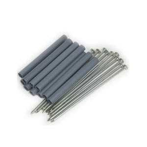 Amerimax 29044 7 In Galvanized Spike And 5 In Galvanized Ferrule For K Style Roof Drainage System 10 Pack