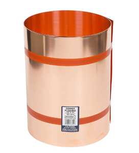 Amerimax 67320 20 in X 10 ft 16 oz Copper Roll Valley Flashing