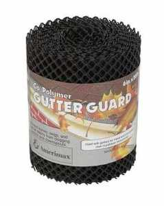 Amerimax 85198 Guard Gutter 6x20 ft Plastic