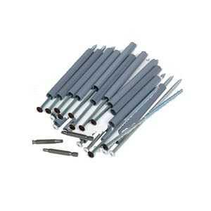 Amerimax 3304719PK 7 In Galvanized Brown Gutter Screw And Ferrule Pack Of 10