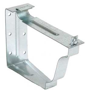 Amerimax 29022 5 In Unpainted Galvanized Snap Lok Bracket