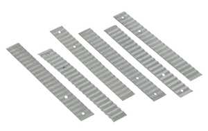 Amerimax 85131 7/8 in X 7 in Galvanized Wall Ties