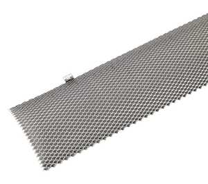 Amerimax 852806 6 in X 3 ft Hinged Galvanized Gutter Guard Pack Of 5