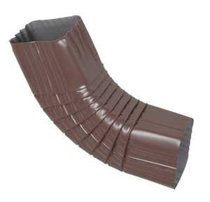 Amerimax 4526519 3x4 in Brown Side B Elbow For K Style Aluminum Gutter