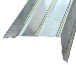 Amerimax 5607100120 1x2 In Galvanized Steel Hemmed Drip Edge 10 Ft