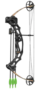 Hoyt Archery 573032 Ruckus Jr Compound Bow RH 29/15-27 Black/Camo