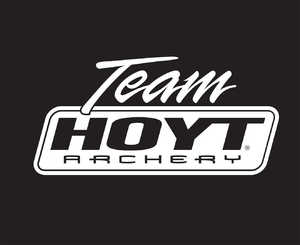 Hoyt Archery 533970 3prm Team Hoyt White Decal