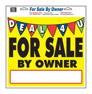 Hy-Ko Products 22604 Sign For Sale By Ownr/Deal