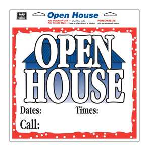 Hy-Ko Products 22610 Sign Open House