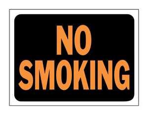 Hy-Ko Products 3013 Sign No Smoking 9x12