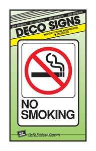 Hy-Ko Products D-20 Sign No Smoking 5x7