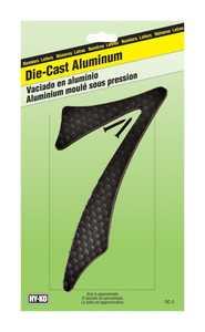 Hy-Ko Products DC-5/7 Die Cast Number Zc Black 41/2 7
