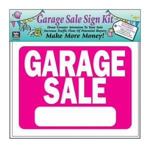 Hy-Ko Products KIT-13 Sign Kit Garage Sale