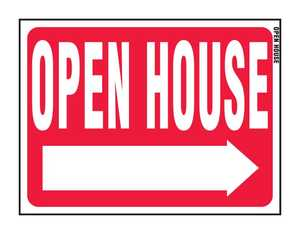 Hy-Ko Products RS-601 Sign Open House 18x24