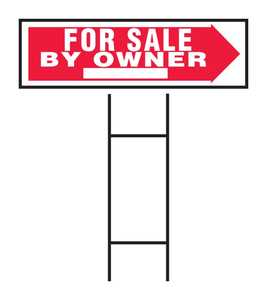 Hy-ko Products RS-802 Sign For Sale By Owner 10x24
