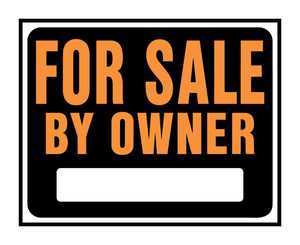 Hy-Ko Products SP-101 Sign For Sale By Owner 15x19