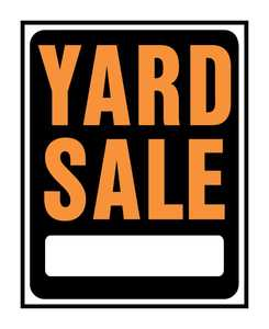 Hy-Ko Products SP-111 Sign Yard Sale 15x19