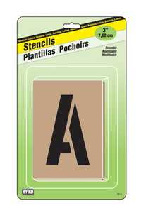 Hy-Ko Products ST-3 Stencil 3 in