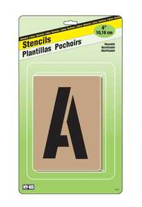 Hy-Ko Products ST-4 Stencil 4 in
