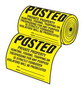 Hy-Ko Products TSR-100 Sign Tyvek Roll/100pc