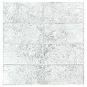 ICL K-462 Trend Foil Collection K462 3x6 In Mosaic Tile