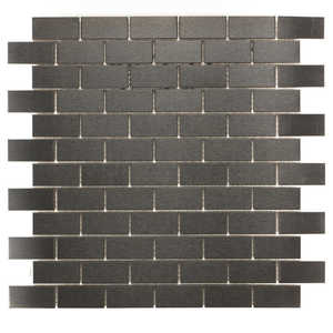 ICL G-458 Urban Metal Collection G458 12x12 In Mosaic Tile Sheet