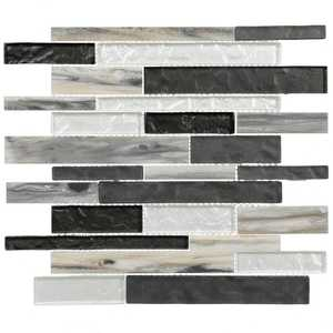 ICL H-328 Luminous Colletion H-328 12x12 in Mosaic Tile Sheet