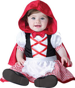 INCHARACTER COSTUMES LLC 16058 LITTLE RED RIDING HOOD M