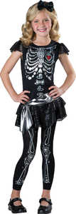 INCHARACTER COSTUMES LLC 17085 SPARKLY SKELETON