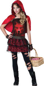 INCHARACTER COSTUMES LLC 18073 RED IN THE HOOD S