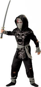 INCHARACTER COSTUMES LLC 92008 DARK ZOMBIE NINJA