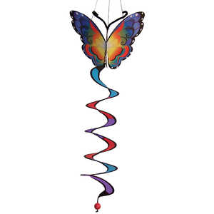 In The Breeze ITB-4288 Fancy Butterfly Hanging Garden Twister