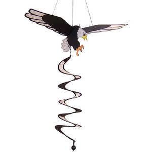 In The Breeze ITB-4286 Eagle Hanging Garden Twister