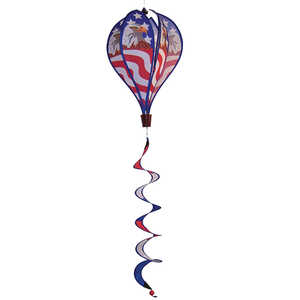 In The Breeze AV-1048 Patriot Eagle Hot Air Balloon Hanging Garden Decoration