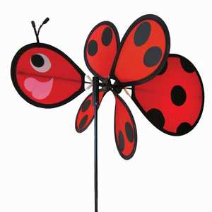 In The Breeze ITB-2802 Ladybug Baby Garden Spinner