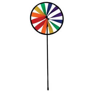 In The Breeze ITB-2832 Rainbow Single Wheel Garden Spinner